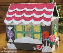 paper gingerbread house 3d paper and gingerbread