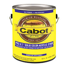 cabot 1 gal ultra white solid color acrylic siding stain 01 0812