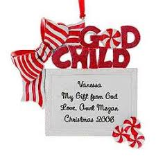 personalized ornament godchild gift box findgift
