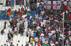 and russia fans clash in marseille daily mail