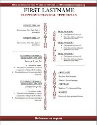 Template For Resume Free Download Openoffice Templates Resume Open Office Templates Resume Free