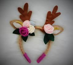 fawn headband deer headband deer costume fawn headband woodland headband deer