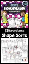 2d and 3d shapes worksheet pack no prep