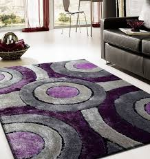 Modern Purple Rugs Purple And Grey Modern Rugs Home Design Ideas