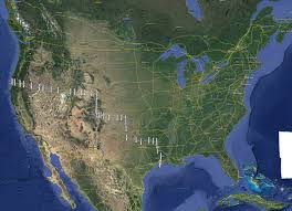 Us Mexico Border Map by Delimitations Project Leadville Today