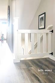 simple custom diy baby gate diy furniture projects pinterest