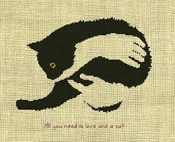 the 25 best cat cross stitches ideas on cross stitch