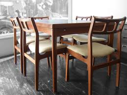 Scandinavian Chairs by Beautiful Teak Dining Room Table And Chairs Classic Danish Solid