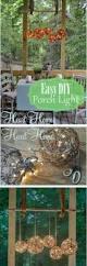 15 easy and creative diy outdoor lighting ideas orb chandelier