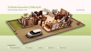 3d Home Design 5 Marla House Plans 3d 5 Marla Youtube
