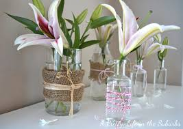 Simple Flower Vase - simple spring flower vases a pretty life in the suburbs