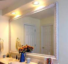custom bathroom mirrors check this custom bathroom mirrors white framed bathroom mirrors