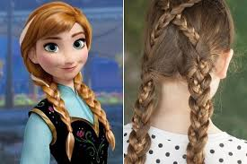 anna from frozen hairstyle anna frozen disney princess inspired hairstyles livingly