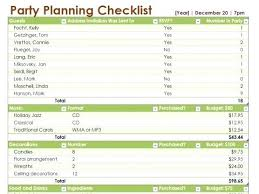 printable party planner checklist event planning template excel printable checklist template