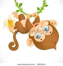cute baby monkey coloring pages 30598765 illustration of monkeys playing in the forest stock