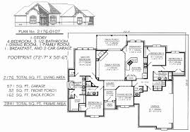 4 bedroom 1 story house plans house plans with 4 bedrooms unique 4 bedroom open floor plans
