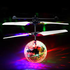 amazon com flying ball drone helicopter crystal ball built in