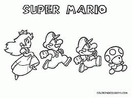 new super mario bros u coloring pages to print best coloring