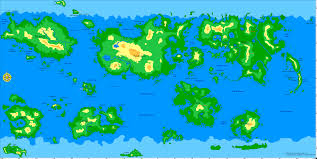 Simple World Map Micronational Cartography Society