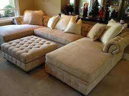 chesterfield sofa with chaise kenzie style chesterfield custom sectional sofas
