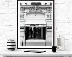 Home Design Stores Paris Chanel Paris Boutique Store Poster Print 31 Rue Cambon Paris