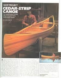build your own 14 foot cedar strip canoe page 2 photo wood