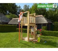 wooden climbing frames jungle gym