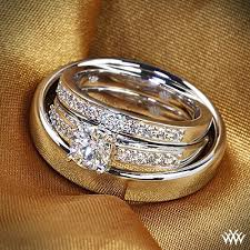 diamond wedding ring sets best 25 wedding sets for ideas on fingerprint