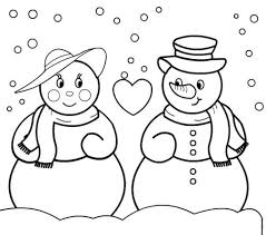 christmas coloring pages snowman printable coloring pages for