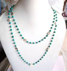 gemstone beads necklace images Precious gemstone beads 925 sterling silver wire chain buy jpg