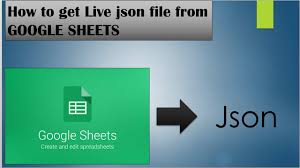Spreadsheet For Android Google Spreadsheet Data As Json Google Sheets To Json Output