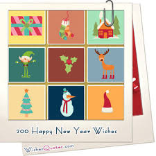 200 happy new year wishes and messages