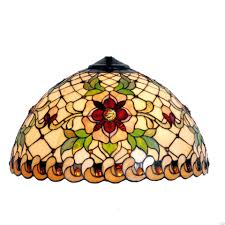 Tiffany Table Lamp Shades Angelique Small Tiffany Replacement Table Lamp Shade U2013 Tiffany