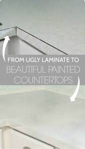 Painting Laminate Countertops Kitchen Best 20 Paint Countertops Ideas On Pinterest Countertop Redo