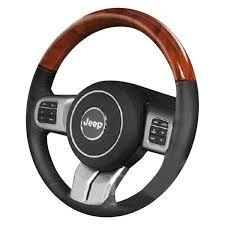 charcoal black jeep b i jeep grand cherokee 2011 2013 premium design steering wheel
