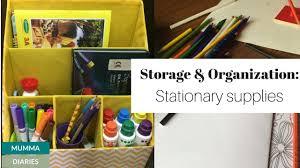 storage and organization ideas for kids stationary u0026 art supplies
