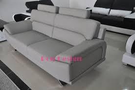 canap cuir gris clair canapés 3 2 1 en cuir véritable aero pop design fr