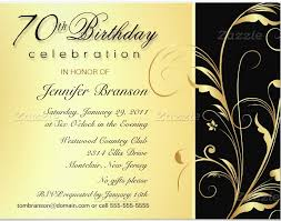 birthday invitation wording invitation ideas for 70th birthday party 70th birthday invitation