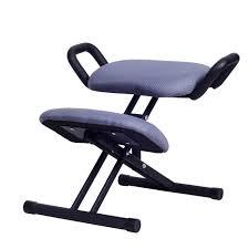 tabouret de bureau ergonomique ergonomique genoux chaise tabouret w poignée hauteur ajuster bureau