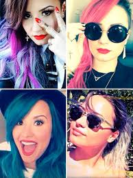 demi lovato hair extensions demi lovato releases line of colored hair extensions
