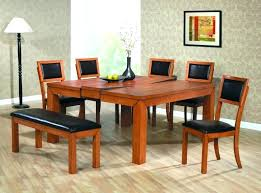 square table with leaf contemporary square dining table lesdonheures com