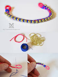 diy fashion bracelet images A matter of style diy fashion build your arm party how to make jpg