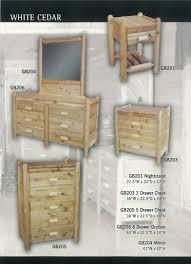 cabin ranch u0026 lodge furniture bedroom