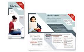 computer solutions tri fold brochure template iws sellsheets