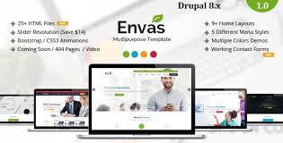 drupal different templates for different pages envas multipurpose business drupal 8 theme by cmsbluetheme