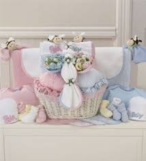 newborn gift baskets blue newborn gift basket