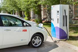 nissan leaf charging points abb e on sign agreement on e charging stations the budapest