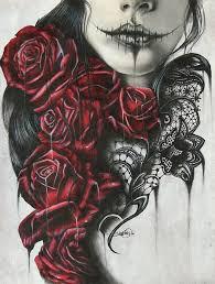 skull and roses half sleeve tattoos binge thinking