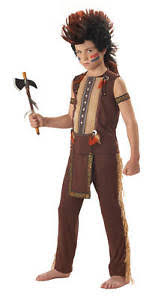 thanksgiving tomahawk indian warrior chief child costume ebay