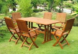 Outdoor Wooden Patio Furniture Outdoor Table Design Wood Patio Table Chairs Popular Wooden